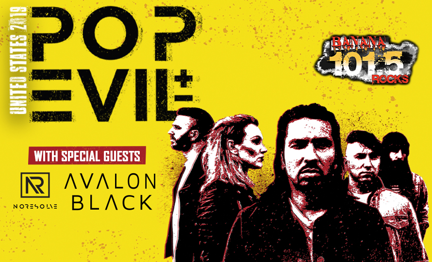 Banana 101.5's 25th Anniversary with Pop Evil