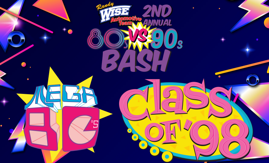 Randy Wise 2nd Annual 80's vs 90's Bash